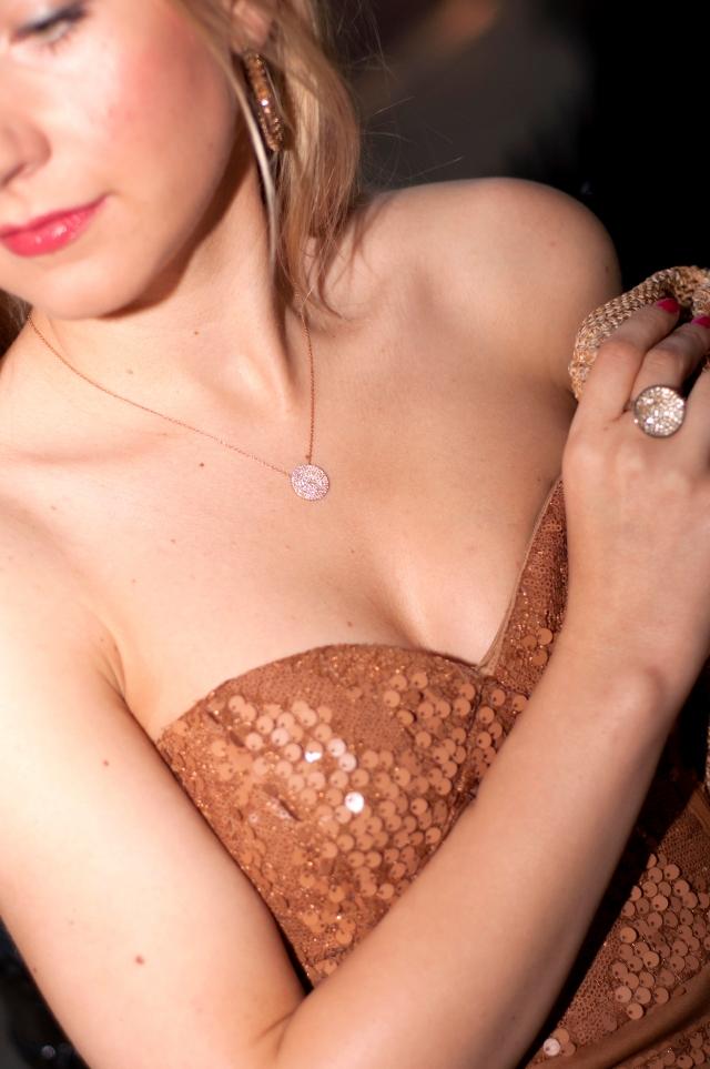 nude sequin dress 4