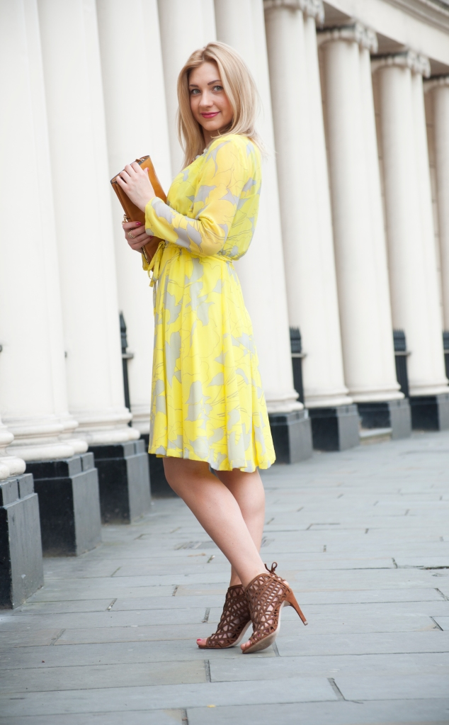 yellow dress 7