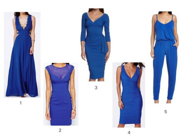 cobalt blue dresses
