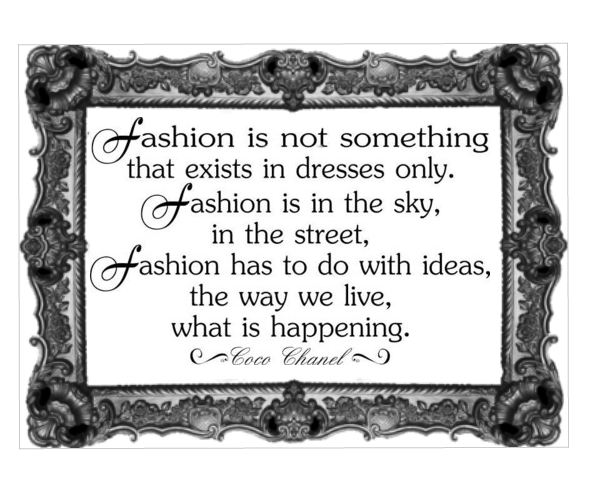 Coco Chanel - Fashion
