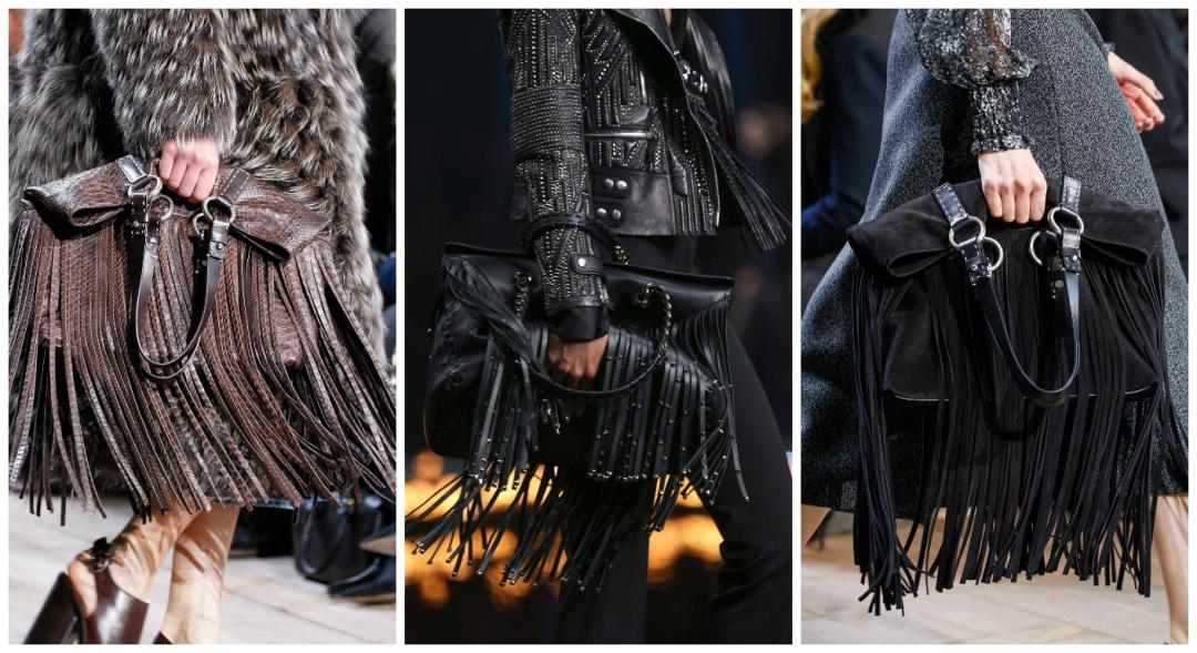 fringed handbags