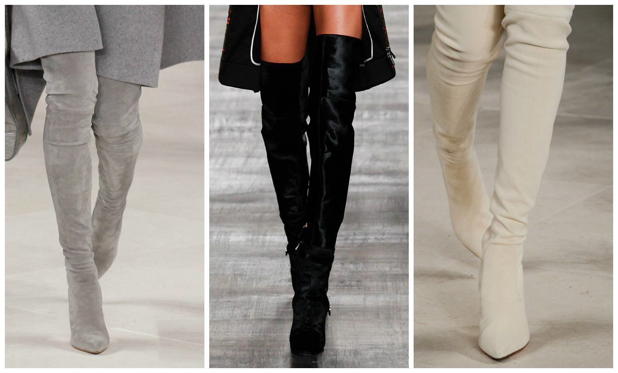 Over The Knee Tight Boots - Yu Boots