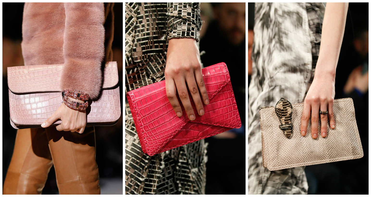 Autumn/Winter 2014-2015 Handbag Trends