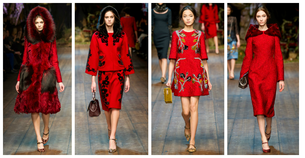 dolce&gabbana red