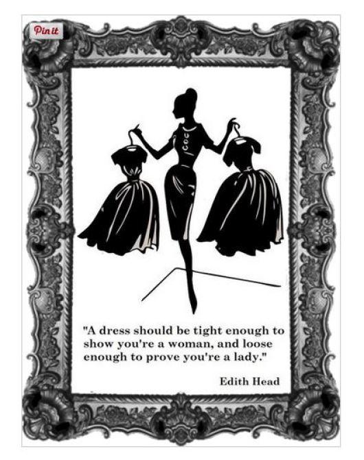 edith head - dress