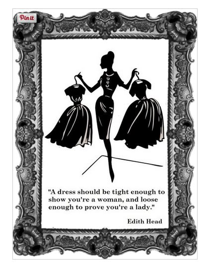 edith head - dress