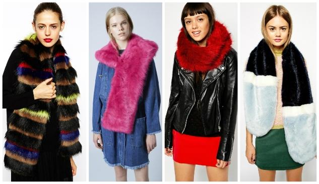 fur scarfs - my picks